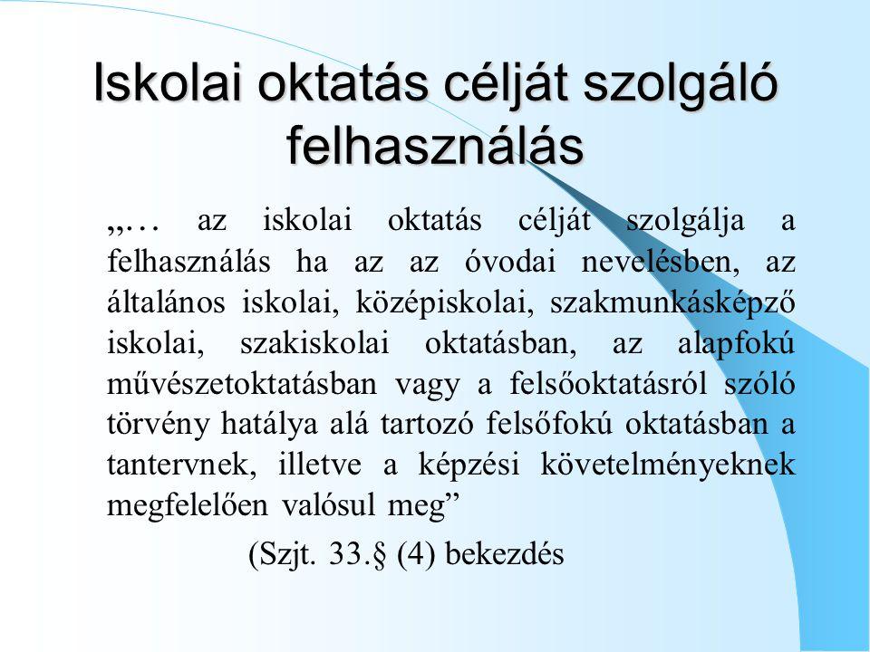Felhasználási szerződés  Szjt.V.