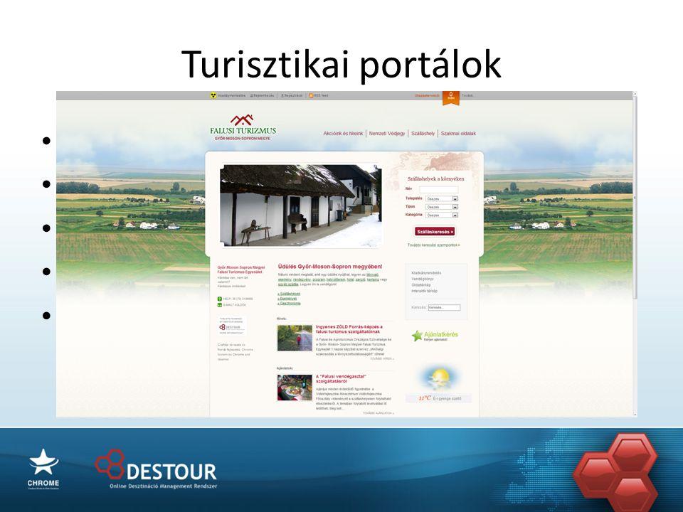 Turisztikai portálok • www.pannonland.hu • Közös marketing • Közös kampányok • Közös SEO • Közös büdzsé