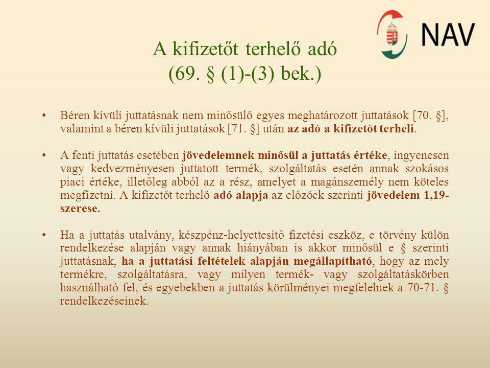 Munkáltatói-foglalkoztatói hozzájárulások (71.
