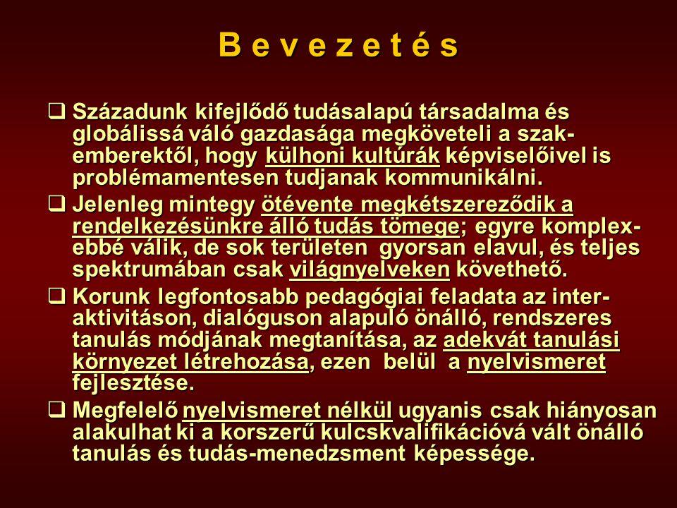 Dr. Balázs Béla Dr. Balázs Béla (Munkakultúra-szakképzési modellek c.