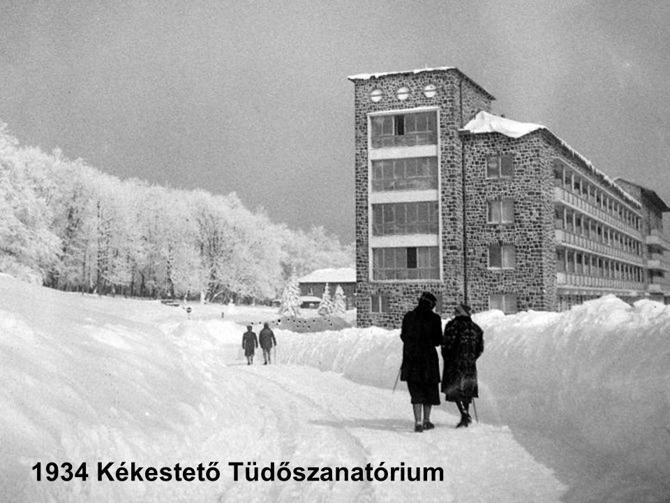 1934 Kékestető Tüdőszanatórium