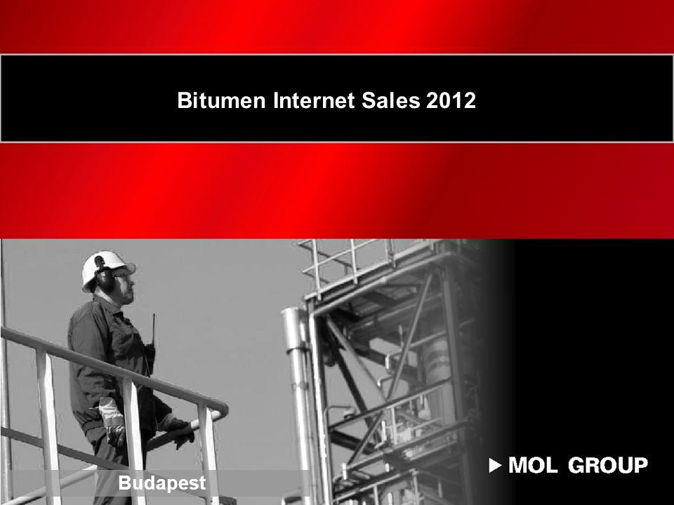Bitumen Internet Sales 2012 Budapest
