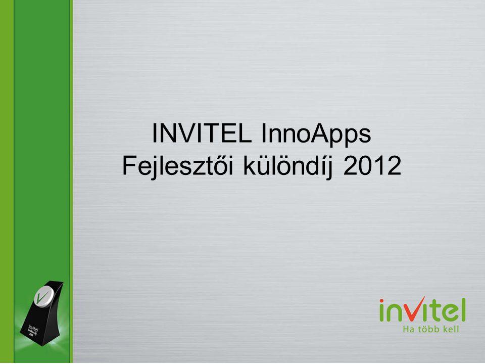 INVITEL InnoApps Fejlesztői különdíj 2012