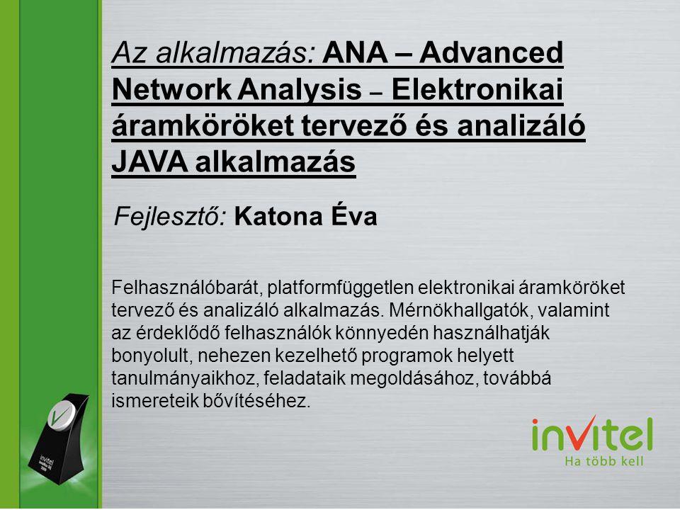 Felhasználóbarát, platformfüggetlen elektronikai áramköröket tervező és analizáló alkalmazás.