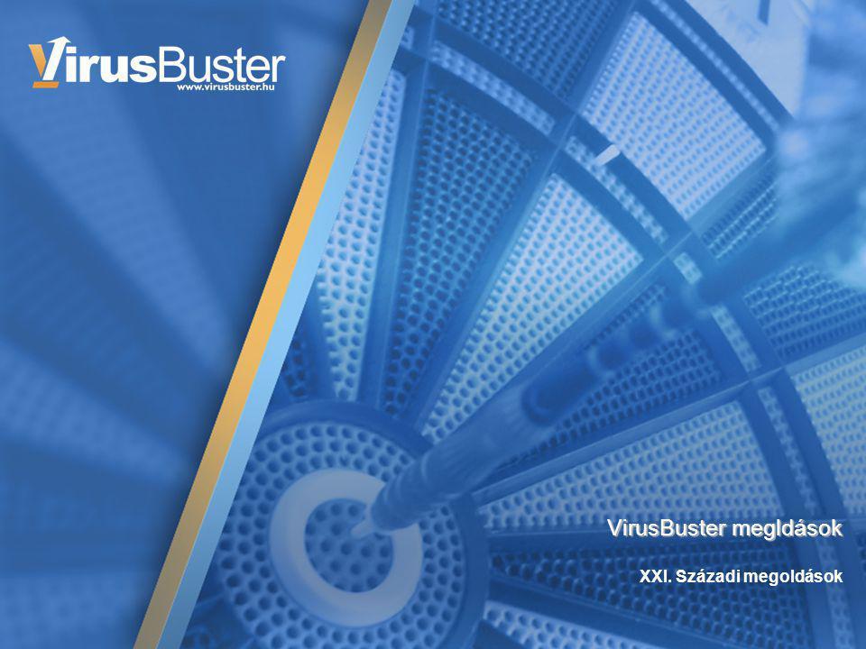 Információvédelem VirusBuster megldások XXI. Századi megoldások