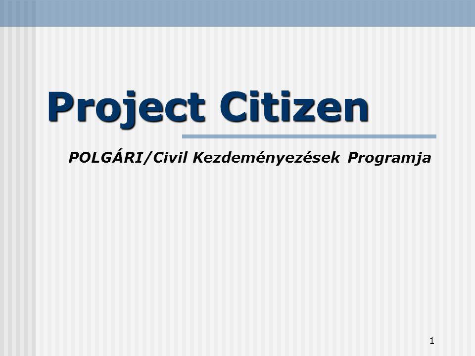 2 Mi is az a Project Citizen.