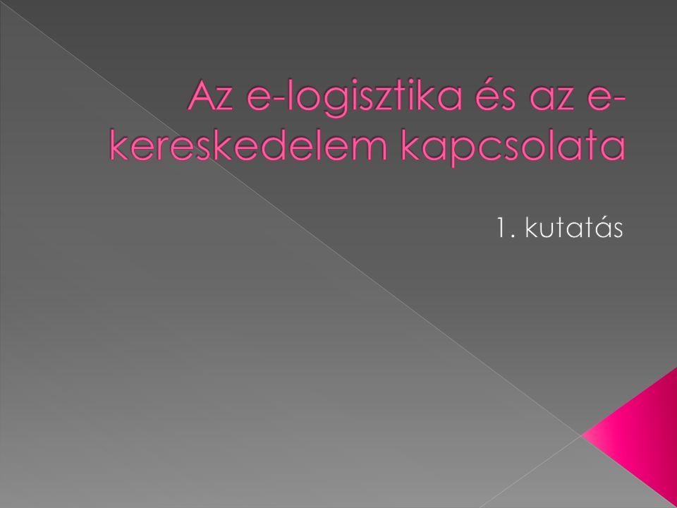 Minden olyan valós logisztikai tevékenységhez kapcsolódó információáramlás, › amely a logisztikai vállalkozások, azok szerveződései, a logisztikai szolgáltatásokat igénybe vevő vállalatok között zajlik.