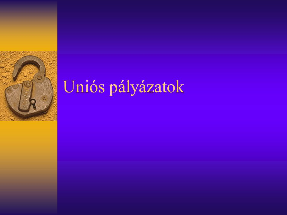 Egy példa: kultúra  Nemzeti Kulturális Alapprogram –Programok, rendezvények, kiadványok, folyóiratok, stb.