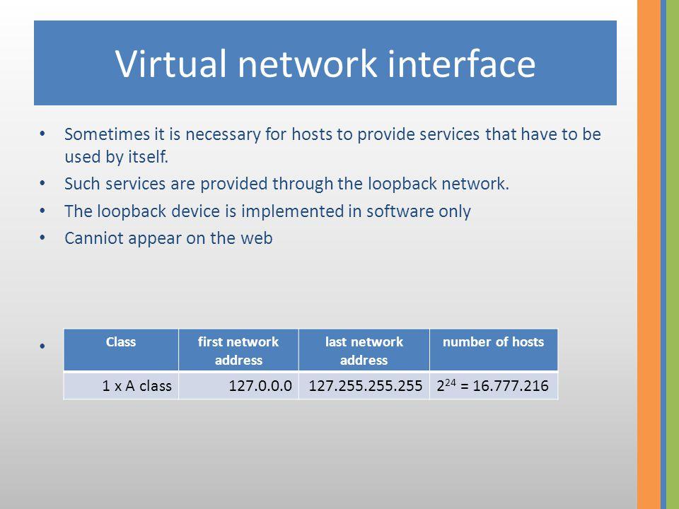 Network and broadcast addresses • networki cím: IP address full of zeroes – xx.xx.xx.0 • Broadcast cím: IP address full of ones – xx.xx.xx.255