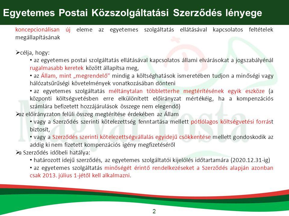 13 A hivatalos irat tértivevényének tartalmi és formai követelményei - 8. melléklet EPKSZ: