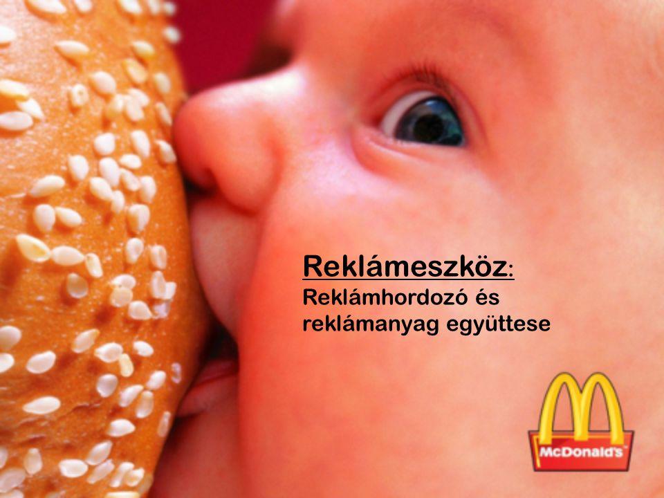 Reklámeszköz : Reklámhordozó és reklámanyag együttese