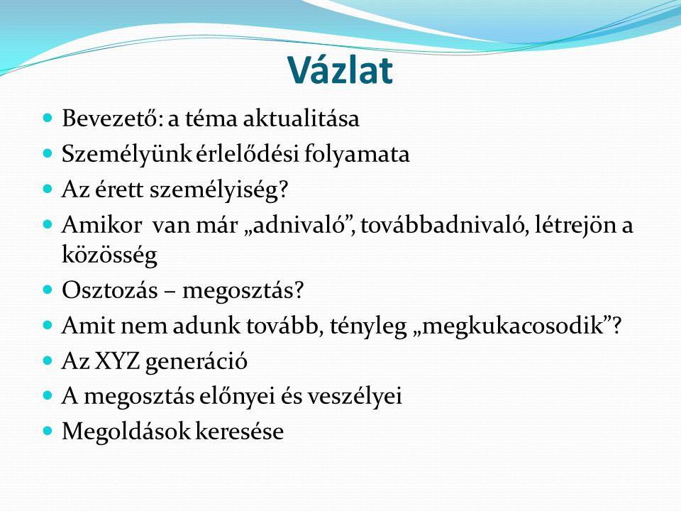 Felhasznált forrás körvonalazása 1.Biblia 2. Bulányi György: Jegyzetek 3.
