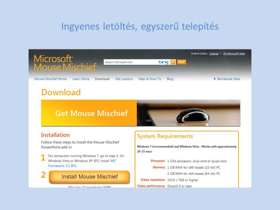 Beépül a PowerPoint-ba (Office 2007 vagy 2010)
