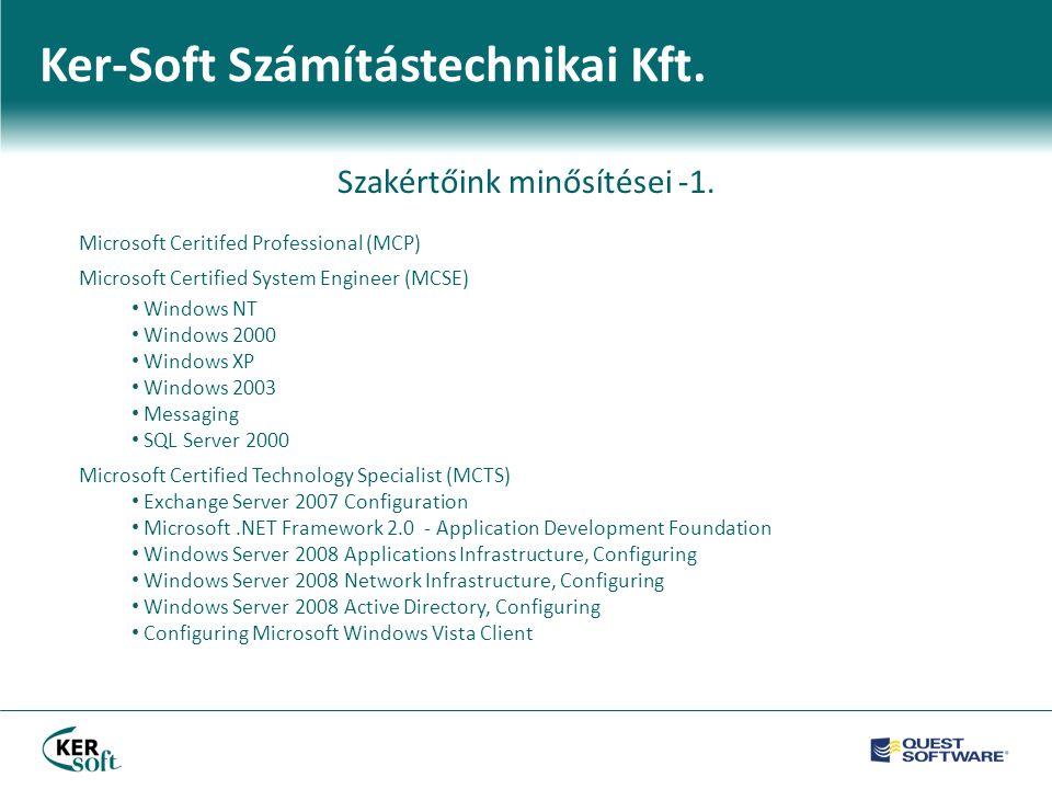 Ker-Soft Számítástechnikai Kft.