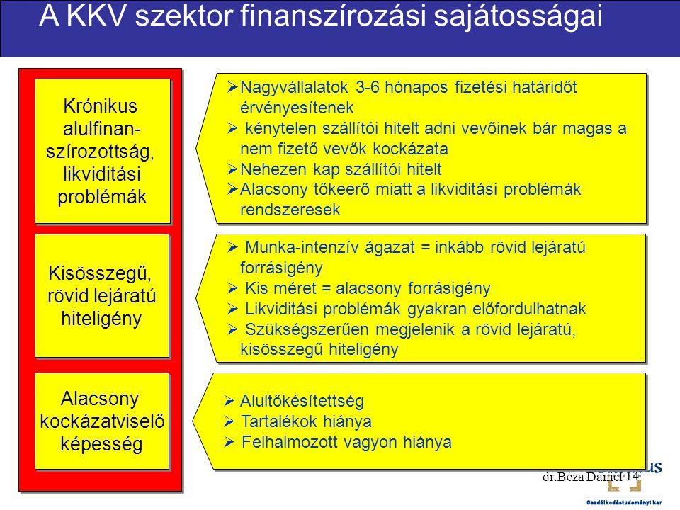 Krónikus alulfinan- szírozottság, likviditási problémák Krónikus alulfinan- szírozottság, likviditási problémák  Nagyvállalatok 3-6 hónapos fizetési