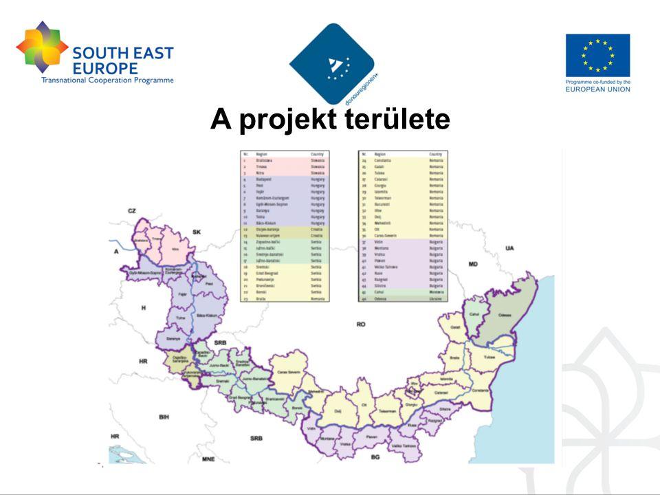 A projekt területe