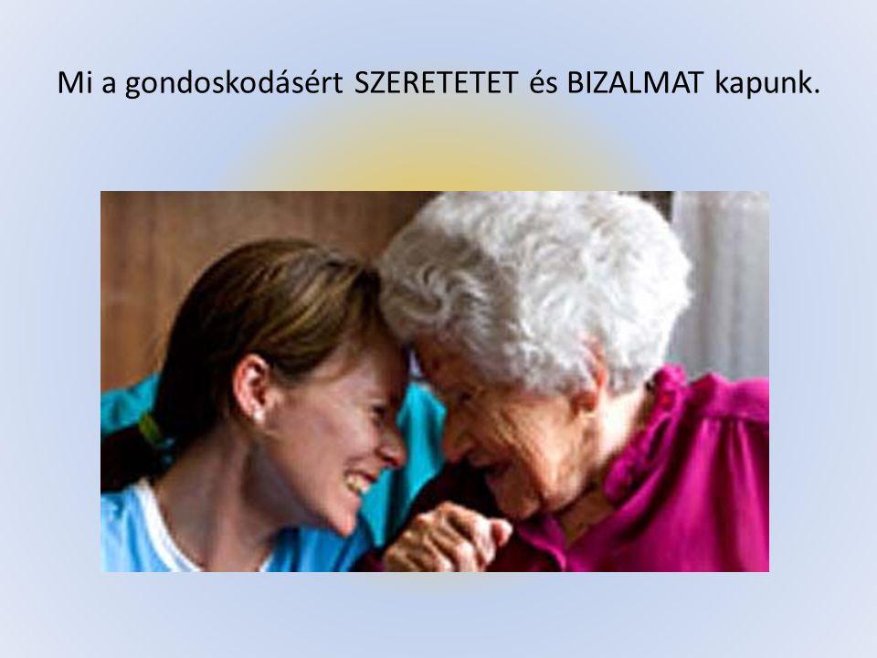 Akkor gyere hozzánk, ha: elég kreatív vagy, tudsz hallgatni, szónokolni, megérteni, ötletelni, és szereted az időseket.