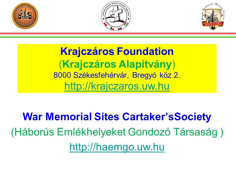 Krajczáros Foundation (Krajczáros Alapítvány) 8000 Székesfehérvár, Bregyó köz 2.
