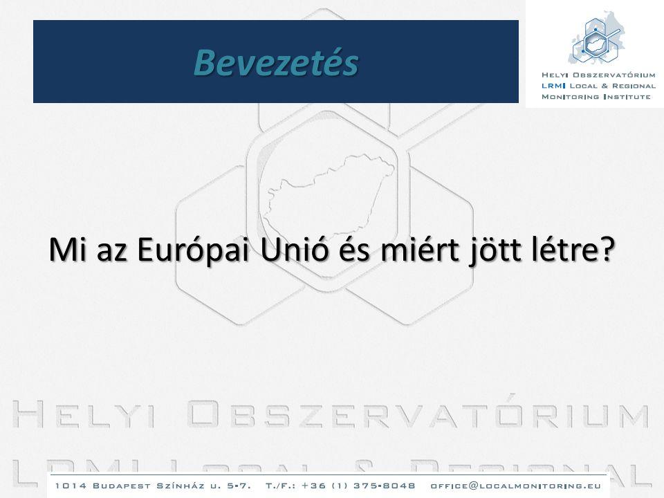Az unió gazdasága • Az Unió súlya a világban: -EU népessége=USA+Oroszoország népessége -A világon megtermelt javak 1/3-át az EU adja -EU GDP-je nagyobb mint az USA-é (3.
