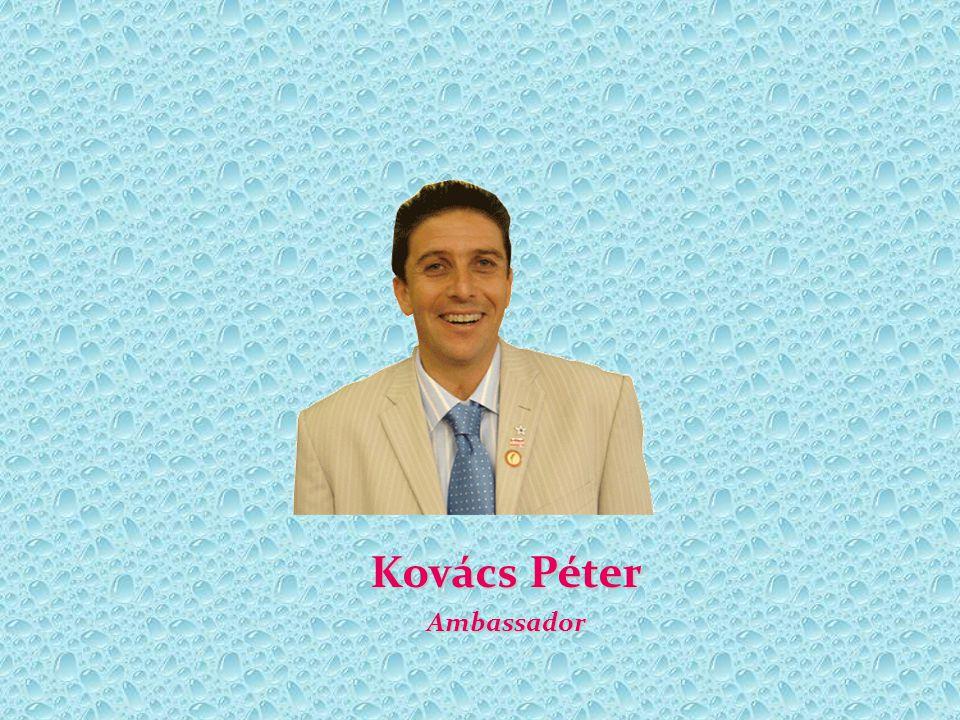 Kovács Péter Ambassador