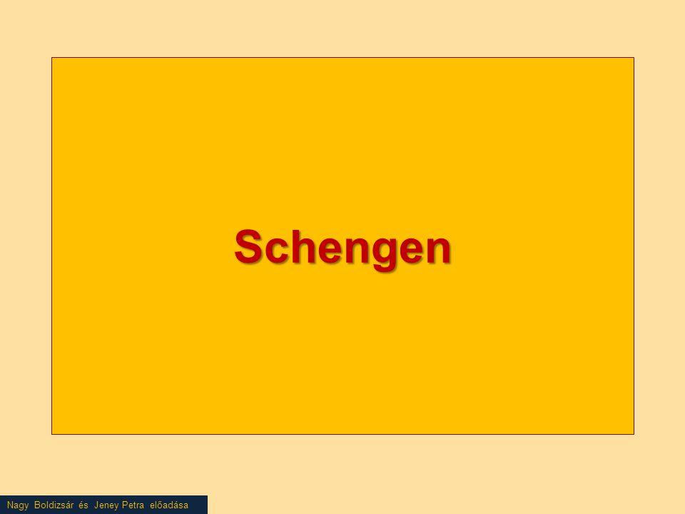 Nagy Boldizsár és Jeney Petra előadása Schengen
