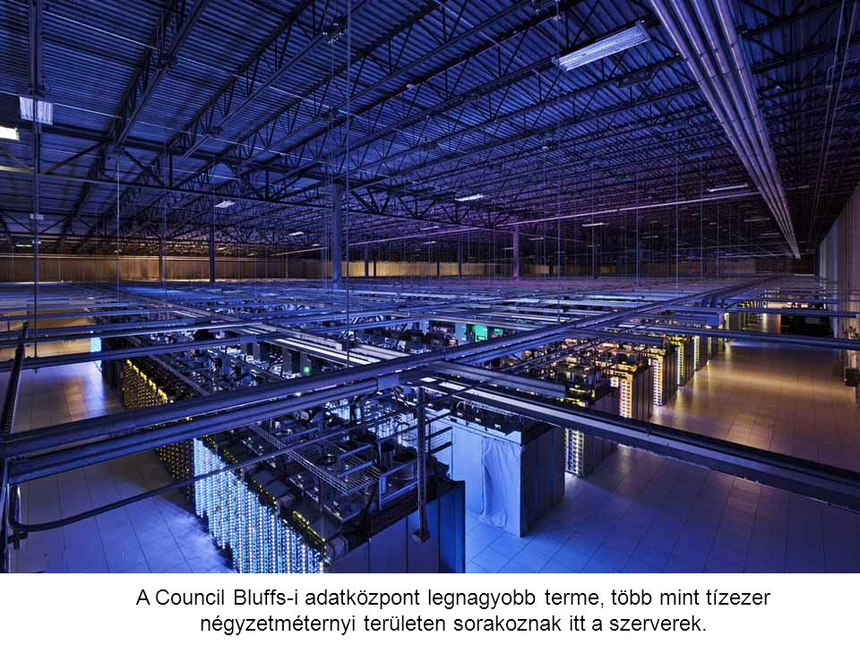 Tárgyalóterem a finnországi adatközpont épületében. A helyi szokásoknak megfelelően a központban szauna is van, amit a munkában megfáradt Google-alkal