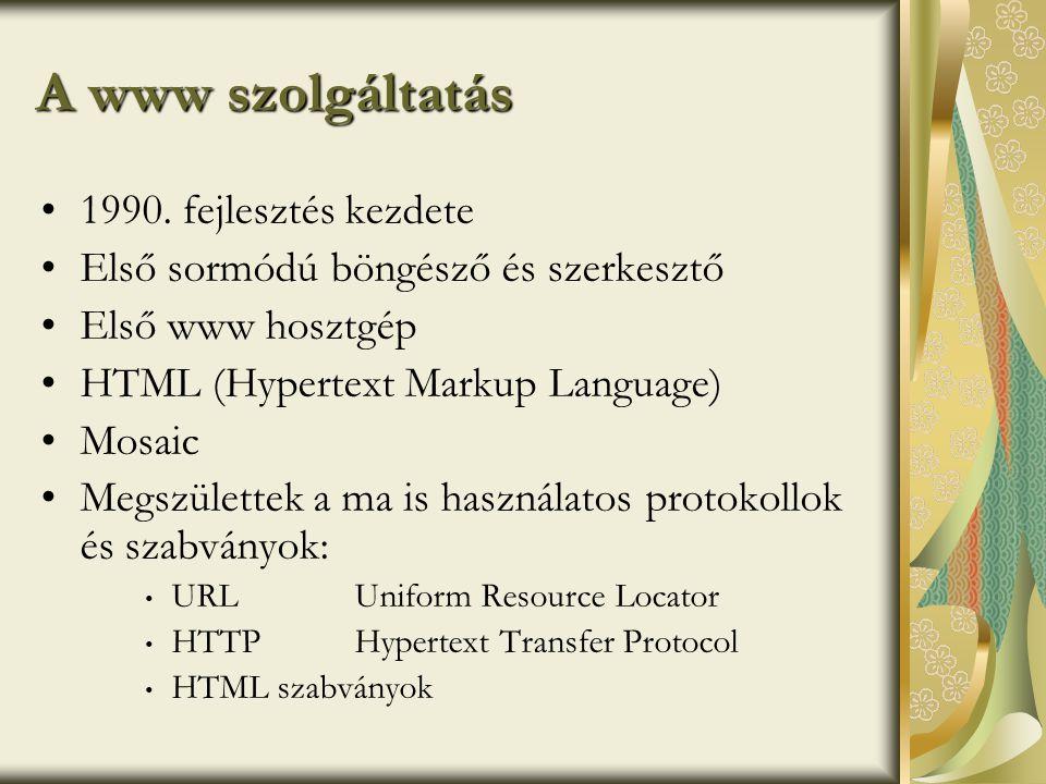 World Wide Web Consorcium •1994.
