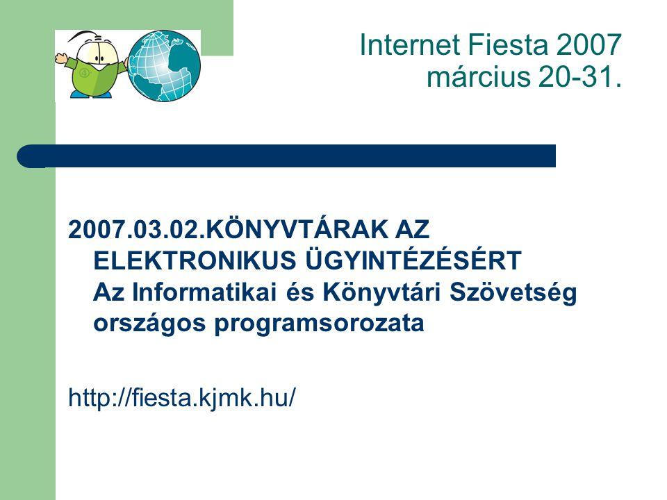 http://www.magyarorszag.hu Valamennyi jogszabályt megtalálod a könyvtárban elektronikus és nyomtatott formában.