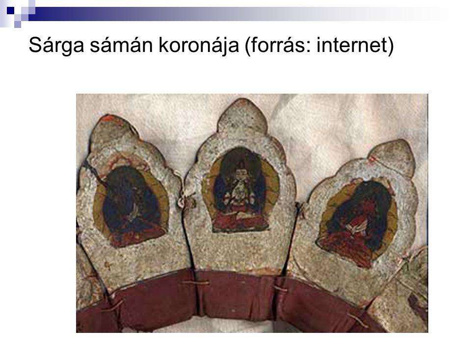 Sárga sámán koronája (forrás: internet)