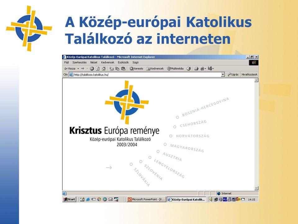 A Közép-európai Katolikus Találkozó az interneten