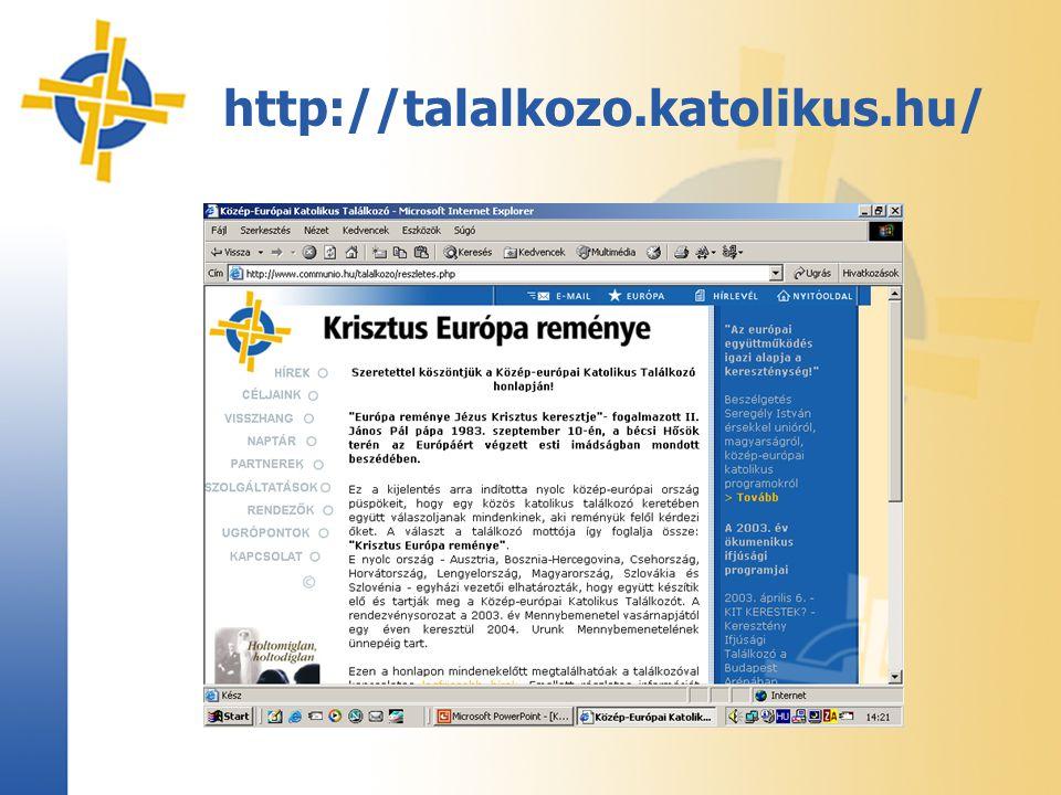http://talalkozo.katolikus.hu/