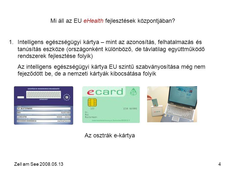 Zell am See 2008.05.134 Mi áll az EU eHealth fejlesztések központjában.