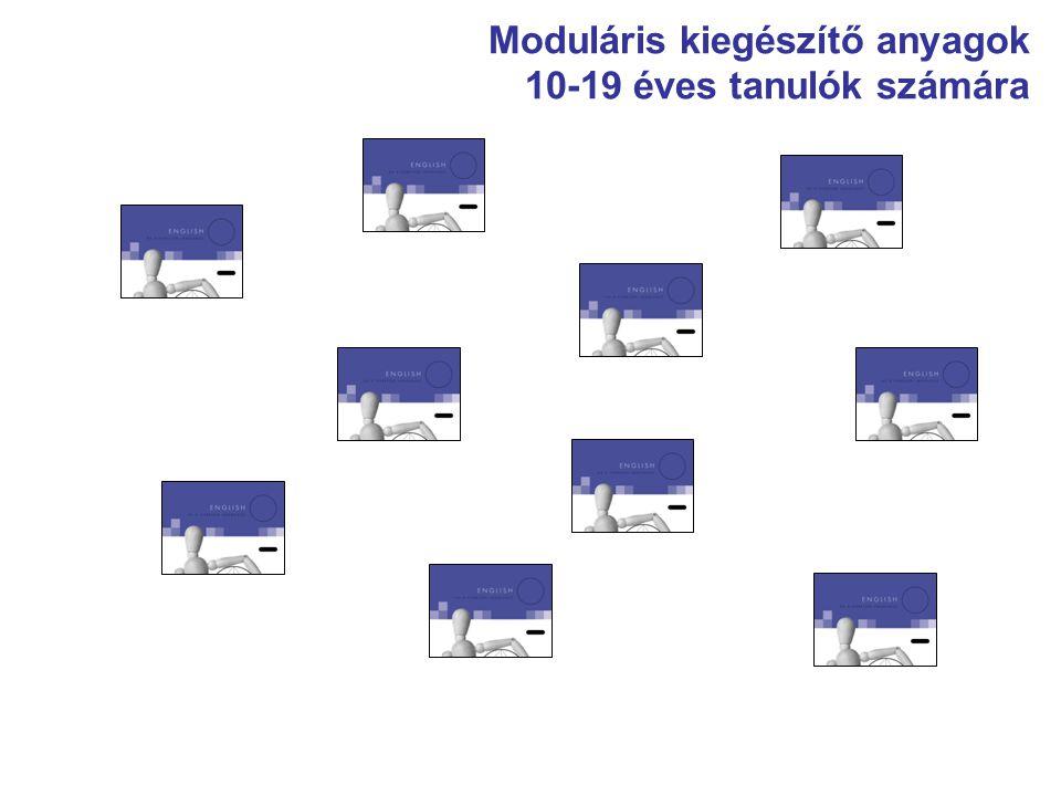 Moduláris kiegészítő anyagok 10-19 éves tanulók számára