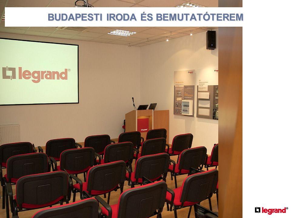 •Új iroda és bemutatóterem átadása Budapesten 2004.