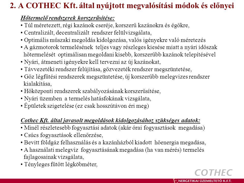 2.A COTHEC Kft.