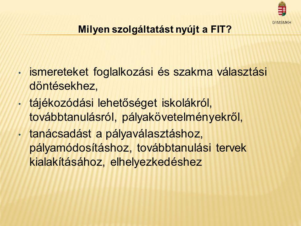 Milyen szolgáltatást nyújt a FIT.