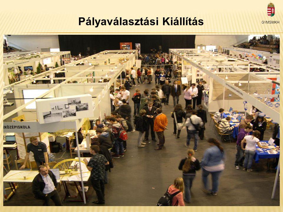 Pályaválasztási Kiállítás GYMSMKH