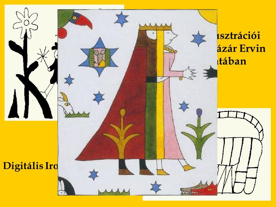 Digitális Irodalmi Akadémia Réber László illusztrációi az Osiris Kiadó Lázár Ervin életmű sorozatában