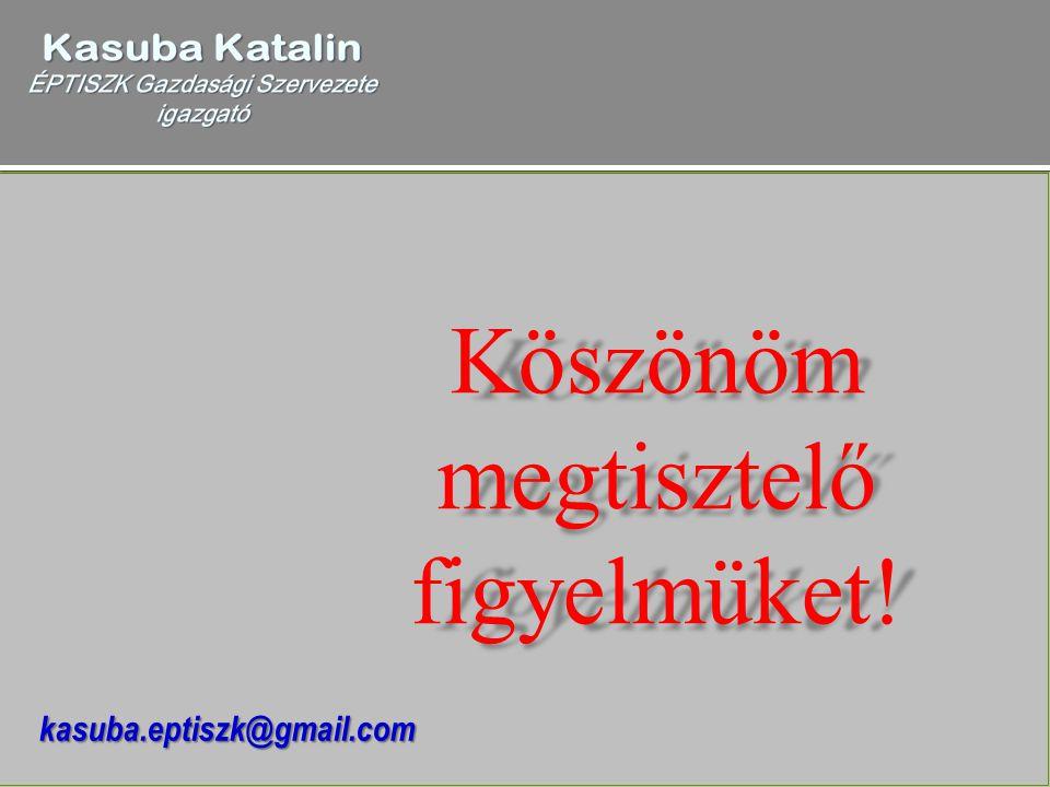 Köszönöm megtisztelő figyelmüket! kasuba.eptiszk@gmail.com