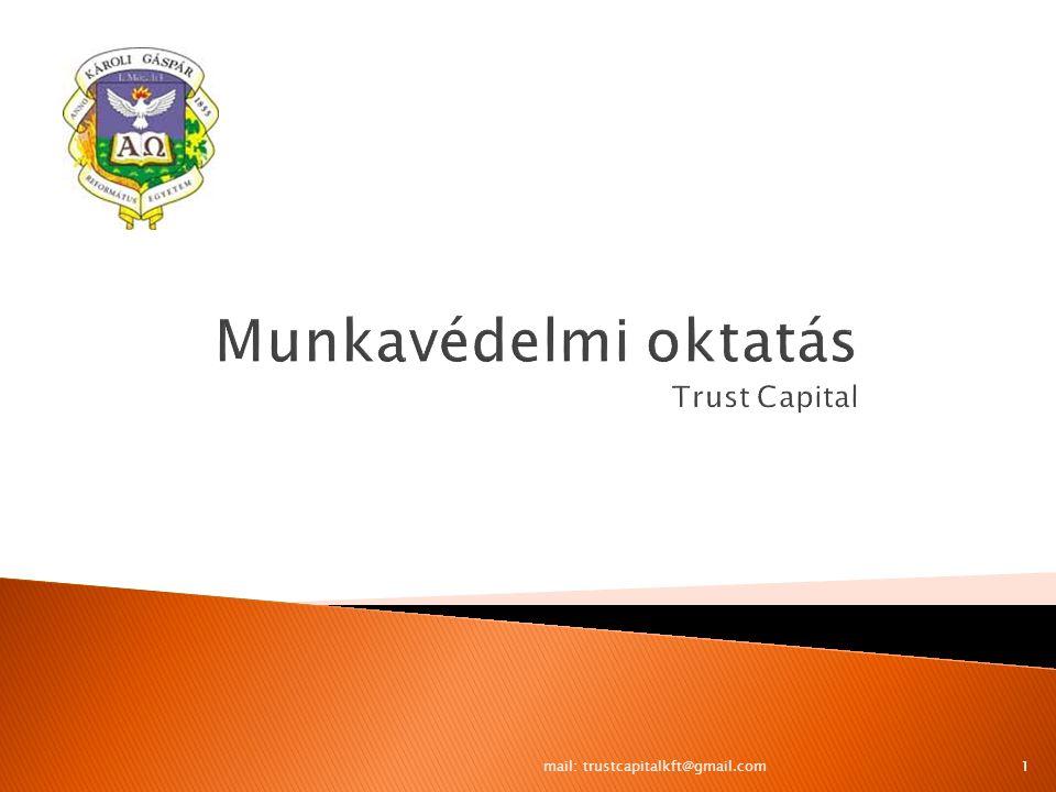 2 Munka- törvénykönyve Munka- törvénykönyve Munkavédelmii törvény Munkavédelmii törvény Tűzvédelmi törvény Tűzvédelmi törvény Egészségügyi törvény Egészségügyi törvény TB.