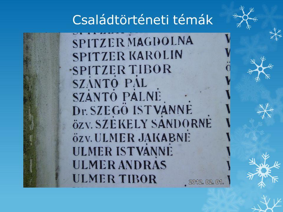 Családtörténeti témák  Békési kistérség  Mezőberény  Szegő György  fényképek.