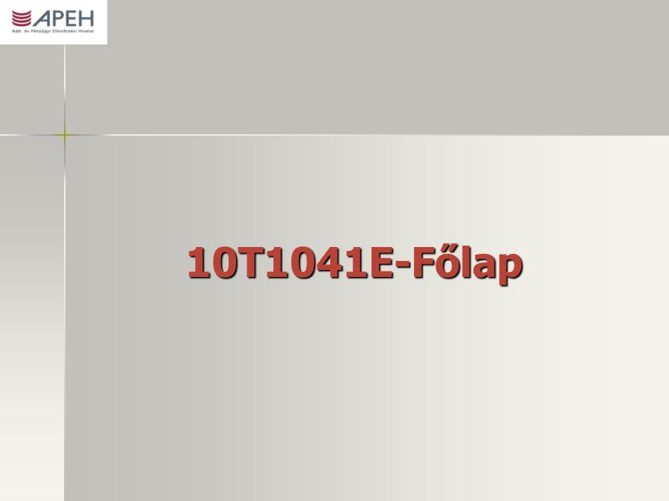10T1041E-Főlap