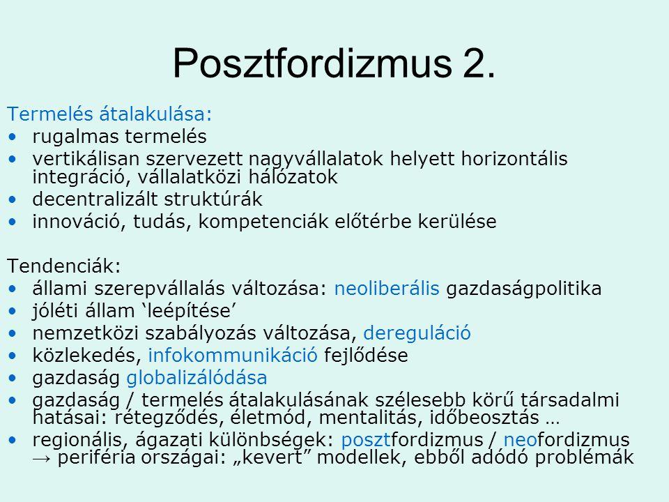 Posztfordizmus 2.