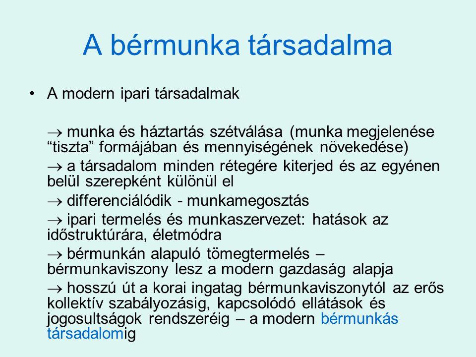 Lehetséges definíciók  Munkanélküli az, akinek nincs munkája …  Munkanélküli az, aki annak érzi magát...