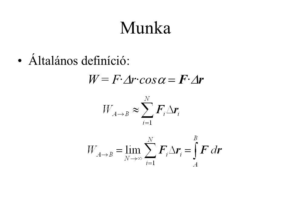 Pontrendszerek mechanikája Pontrendszer a kettő, vagy ennél több tömegpont együttese •n a pontrendszerhez tartozó tömegpontok száma •m 1, m 2, … m n az egyes tömegpontok tömege.