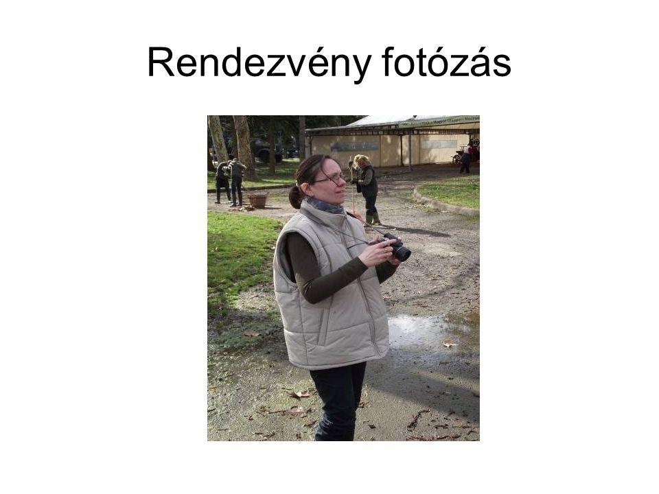 Rendezvény fotózás