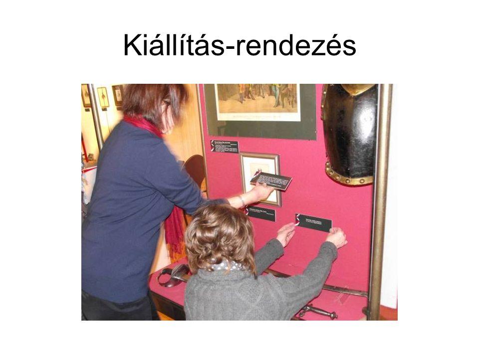 Kiállítás-rendezés