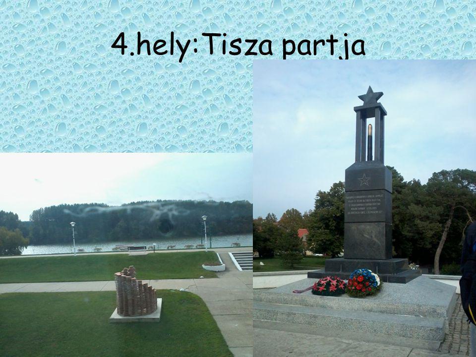 5.Hely :Hungaria -szobor • A törökbecsei temertőben áll az 1848/49-es magyar szabadságharc emlékére készült Hungária szobor.