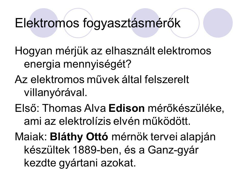 BLÁTHY OTTÓ TITUSZ (1860 - 1939) THOMAS ALVA EDISON (1847-1931)