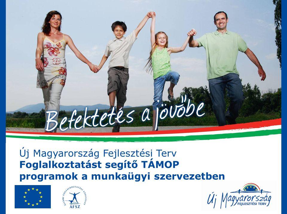 Új Magyarország Fejlesztési Terv Foglalkoztatást segítő TÁMOP programok a munkaügyi szervezetben